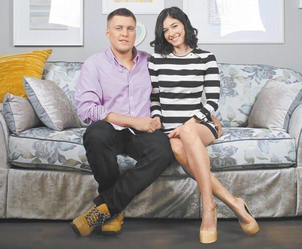 Александр Незлобин с женой