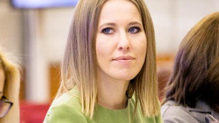 Избиратели отрекаются от Ксении Собчак