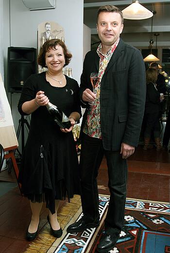 Парфенов с женой
