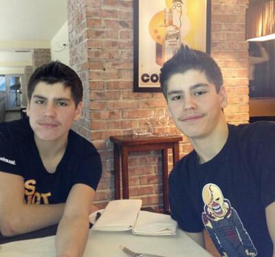 Глеб и Илья