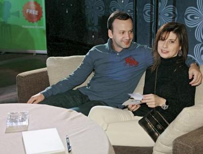 Жена Аркадия Дворковича – Зумруд Рустамова