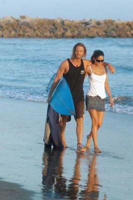 Факундо Арана с первой женой Исабель