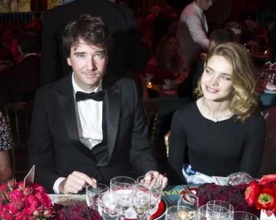 Наталья Водянова со вторым мужем Антуаном Арно