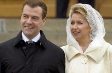 Жена Дмитрия Медведева – Светлана Медведева