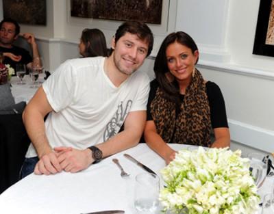 Юлия Началова с мужем