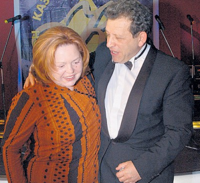 жена бориса грачевского
