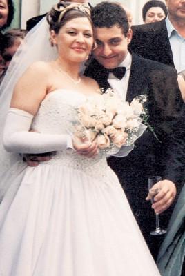 Михаил Полицеймако с первой женой Ольгой Лысак