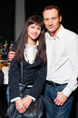 Анатолий Белый со второй женой Инессой Москвичевой