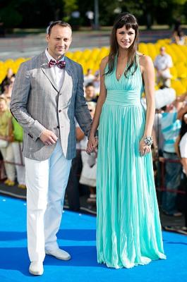 Анатолий Белый с женой Инессой Москвичевой