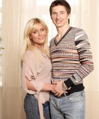 Юлия Началова с первым мужем