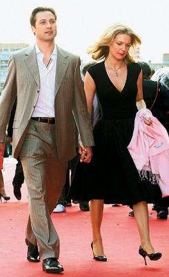 Алексей Морозов с женой