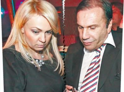Яна Рудковская с первым мужем
