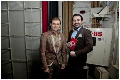 Антон Лирник и Андрей Молочный