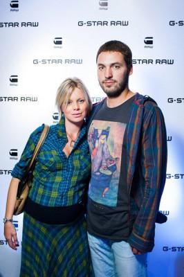 Евгения Осипова с мужем Анатолием Симченко