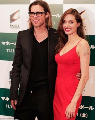 Анджелина Джоли с Бредом Питтом
