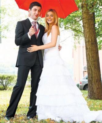 Свадьба Ксении Бородиной  и  Юрия Будагова