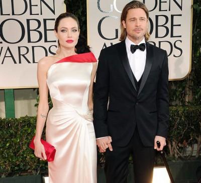 Анджелина Джоли с третьим мужем