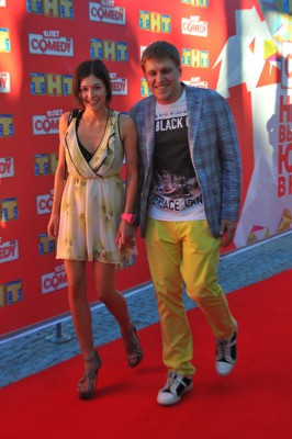 Александр Незлобин с супругой Алиной
