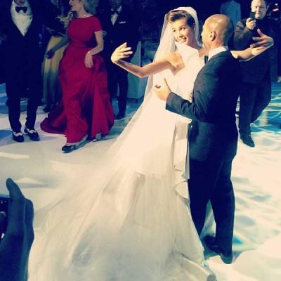 Свадьба Кэти Топурии