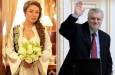 Жена Сергея Миронова