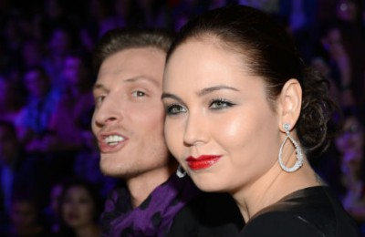 Ляйсан Утяшева с мужем