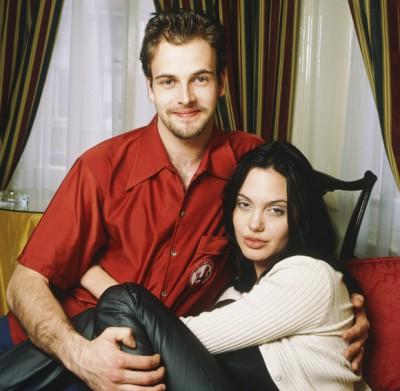 Анджелина Джоли с первым мужем