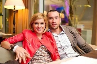 Михаил Терехин с женой Ксенией Бородиной