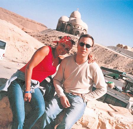 георгий дронов и его жена