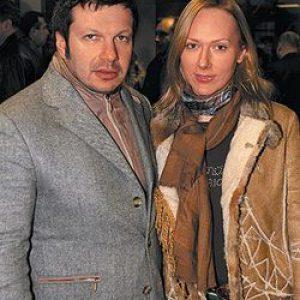 Жена Владимира Соловьева