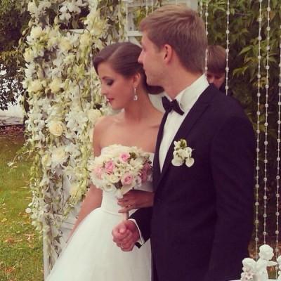 анна михайловская и ее муж