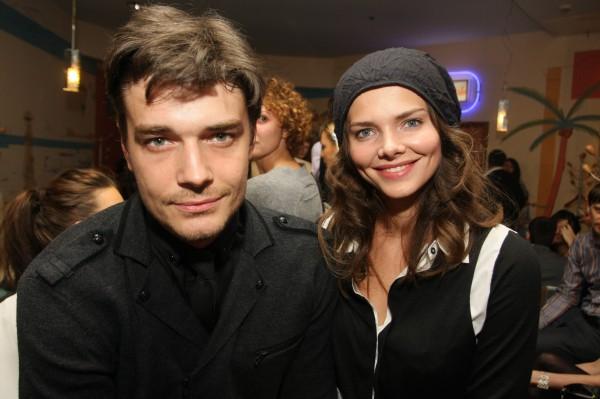 Бывшие супруги Максим Матвеев и Яна Сексте дали совместное