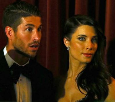 серхио рамос и его жена