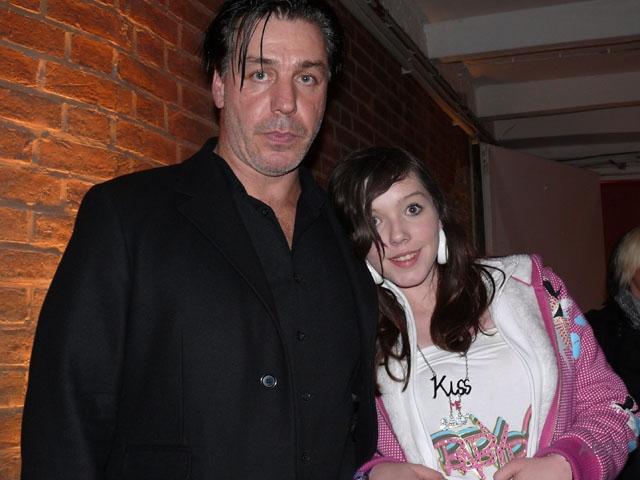 Тиль с дочкой Марией-Луизой