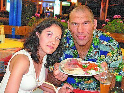 Жена Николая Валуева.