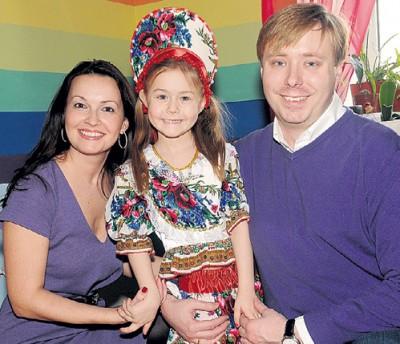 Семья Александра Маслякова младшего.