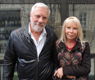 Дмитрий Крылов и его жена