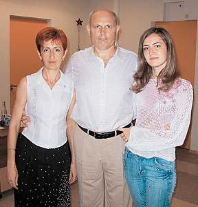 Жена Геннадия Малахова и дочка