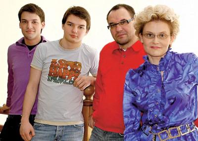 Семья Елены Малышевой