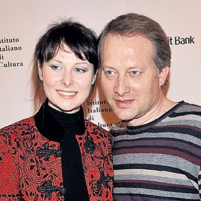 Алексей Пиманов с женой Ольгой
