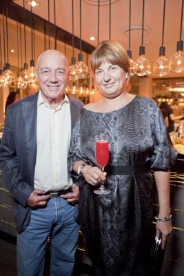Владимир Познер с женой