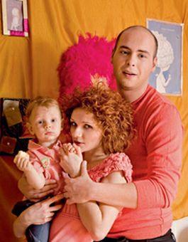 Привольнов с женой и сыном