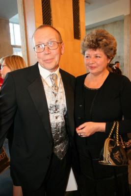Юрий Вяземский с женой