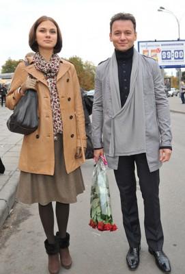 Александр Олешко с женой