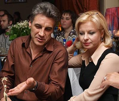 Валентина с первым мужем