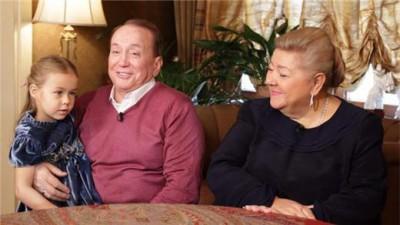 Александр Масляков и его жена