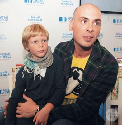 Антон Привольнов с сыном