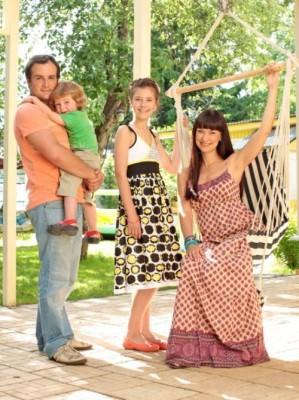 Нонна с семьей