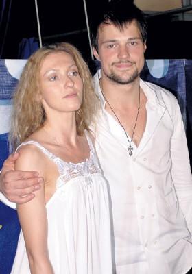Актер Козловский с первой женой