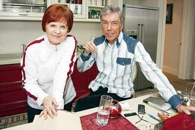 Юрий Николаев с любимой женой