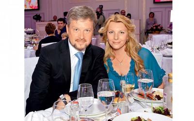 Валдис Пельш с женой